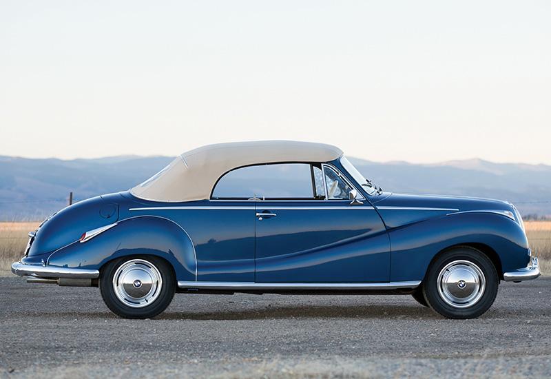 1954 bmw 502 cabriolet - photo #13