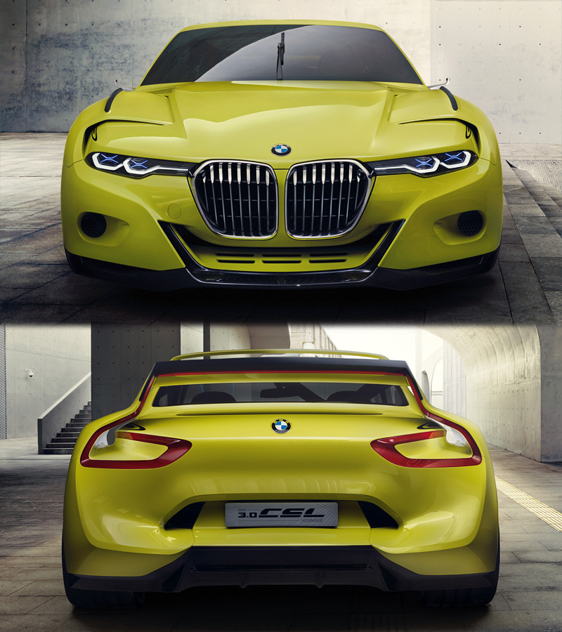 2015 BMW 3 0 CSL Hommage Concept specifications photo