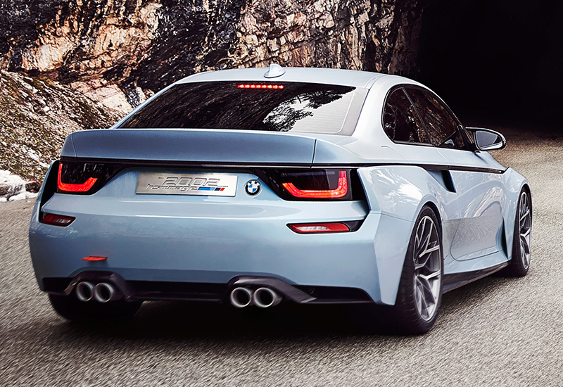 2016 BMW 2002 Hommage Concept - specifications, photo ...