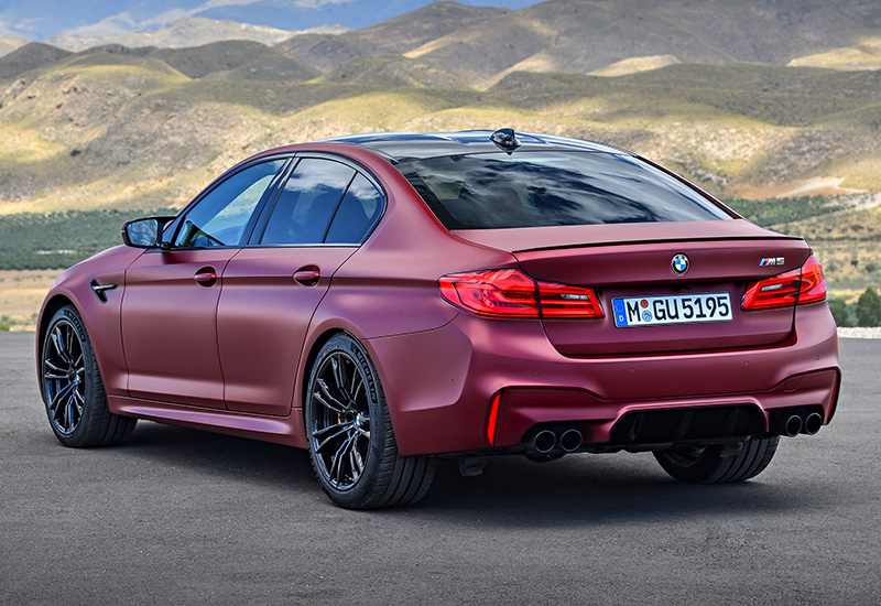 2018 BMW M5 (F90) - specifications, photo, price, information, rating