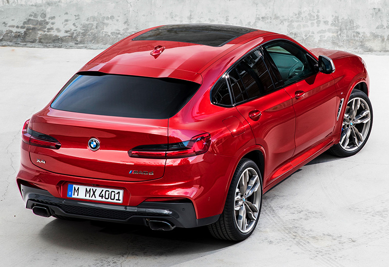 2019 BMW X4 M40d (G02) - specifications, photo, price ...