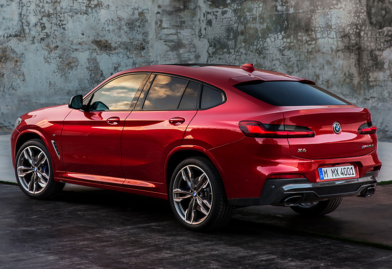 2019 Bmw X4 M40d G02 Specifications Photo Price