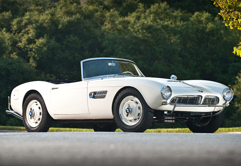 1956 BMW 507 - specifications, photo, price, information, rating