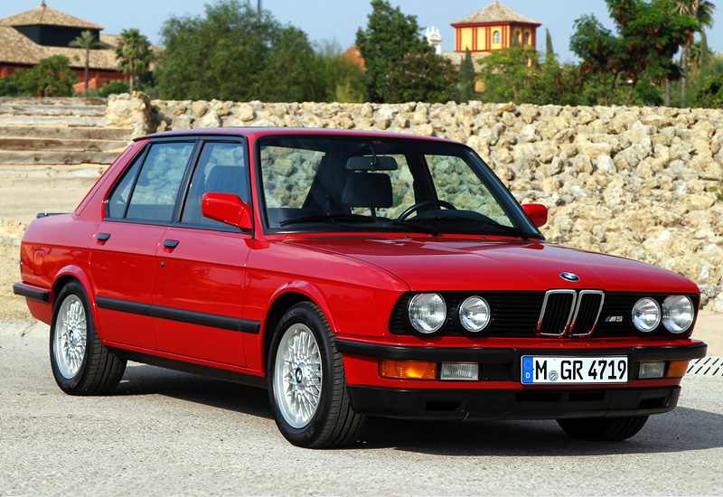 1985 Bmw M5 E28 Specifications Photo Price Information Rating