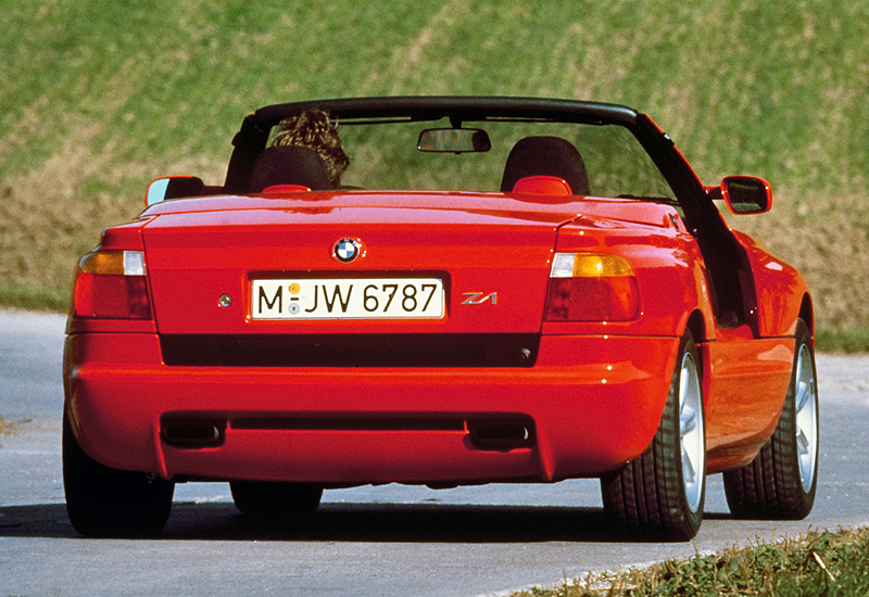 1988 bmw z1 e30 specifications photo price information rating. Black Bedroom Furniture Sets. Home Design Ideas