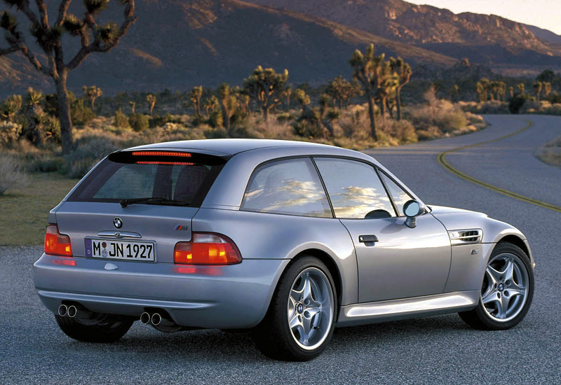 1998 Bmw Z3 M Coupe Specifications Photo Price