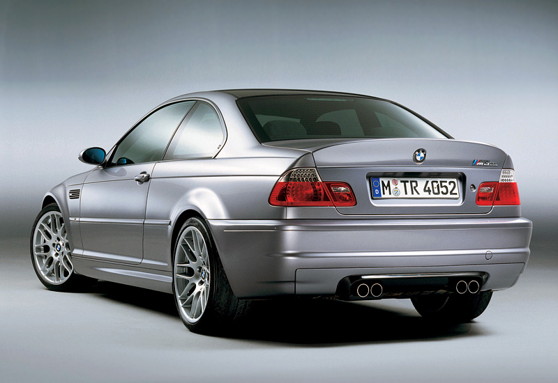 2003 bmw m3 csl coupe e46 specifications photo price information rating. Black Bedroom Furniture Sets. Home Design Ideas