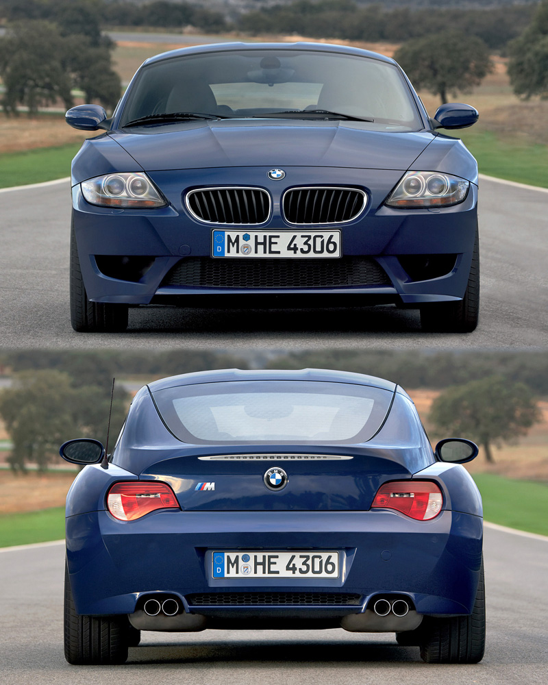 2006 Bmw Z4 M Coupe E85 Specifications Photo Price Information Rating