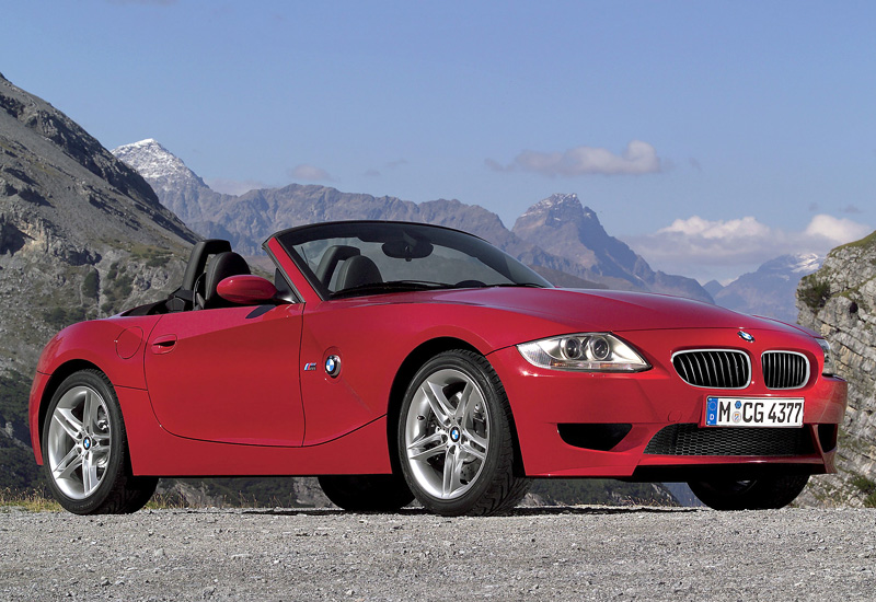 2006 Bmw Z4 M Roadster E85 Specifications Photo