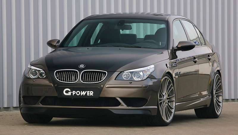 Top Car Ratings 2009 Bmw M5 G Power Hurricane Rs