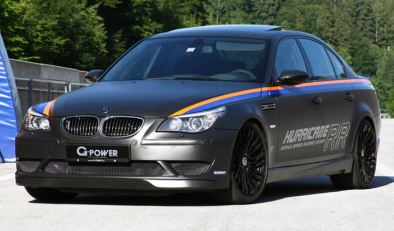 2010 bmw m5 g power hurricane rr specifications photo price information rating. Black Bedroom Furniture Sets. Home Design Ideas