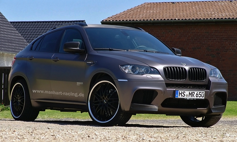 Delightful 2011 BMW X6 M Manhart Racing M6XR Twin Turbo