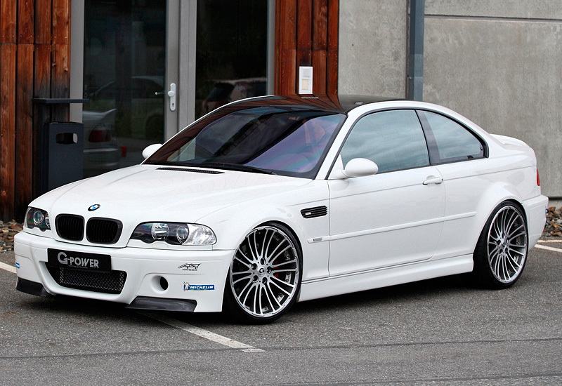 2012 BMW M3 Coupe G-Power (E46)