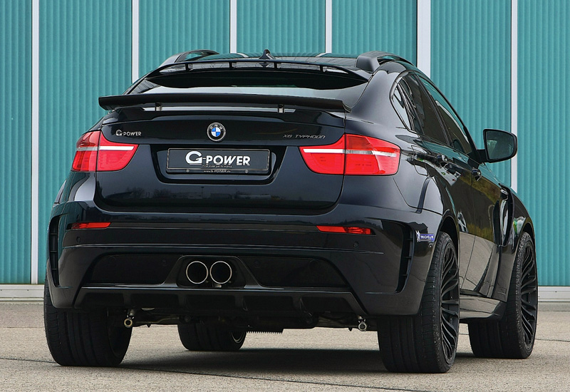 Top Car Ratings 2012 Bmw X6 M G Power Typhoon Widebody