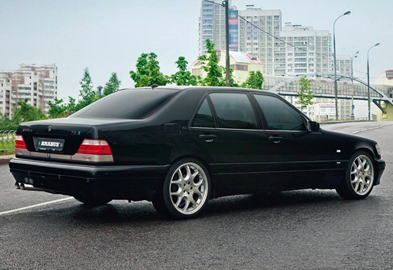 1996 brabus 7 3s mercedes benz s600l specifications for Mercedes benz s600l