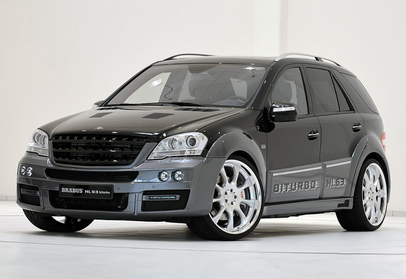 2009 brabus ml 63 biturbo mercedes benz ml 63 amg w164 for Mercedes benz suv 2009