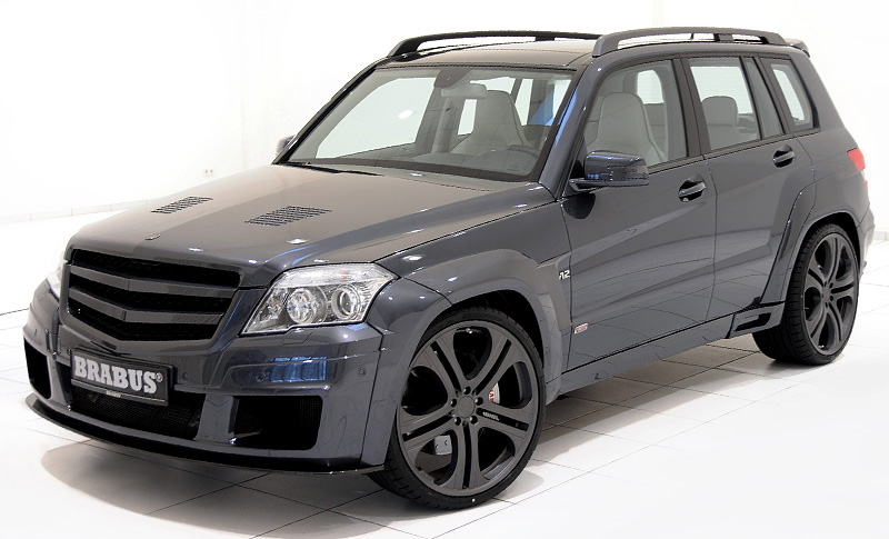 200 Kph To Mph >> 2010 Brabus GLK V12 - specifications, photo, price, information, rating