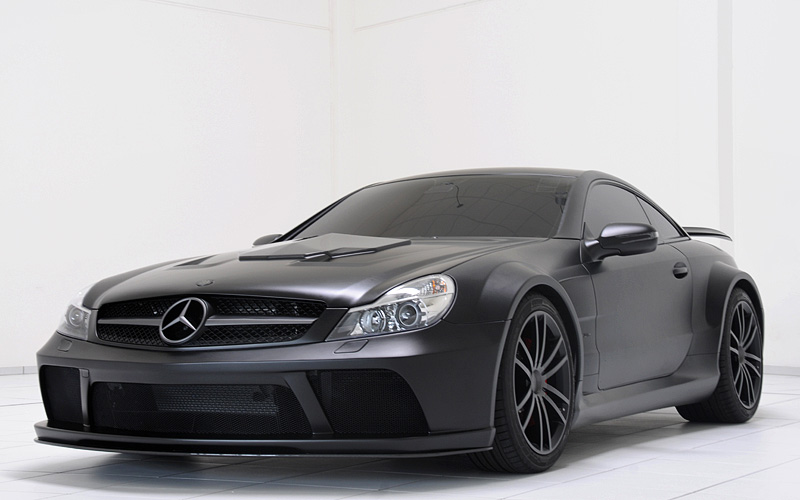 2010 brabus t65 rs mercedes benz sl65 amg black series for Mercedes benz slk brabus price