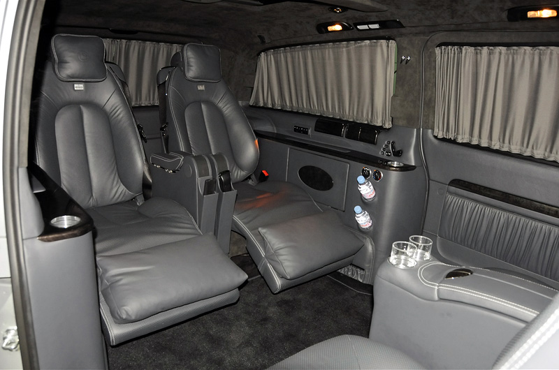2010 Brabus Viano 6 1 V8 Ibusiness 3d Specifications