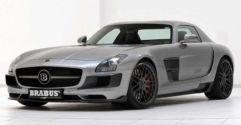 2011 brabus 700 biturbo mercedes benz sls amg for Mercedes benz sls price