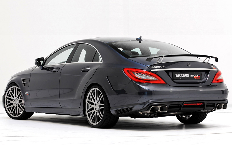 the second Introduced HAS ITS Brabus CLS based super sedan Rocket 800 x 500 125 kB jpeg