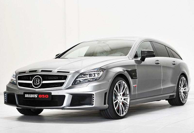 2013 brabus cls 63 amg shooting brake 4matic 850 6.0 biturbo