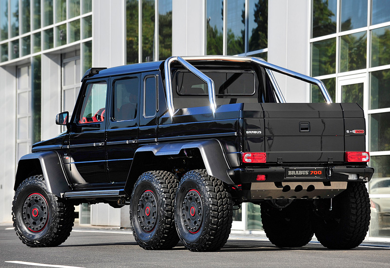 2013 Brabus G 63 Amg 6x6 B63s 700 Specifications Photo