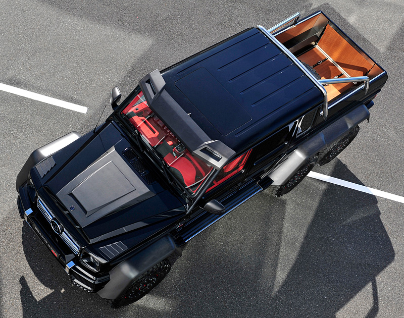 2013 Brabus G 63 AMG 6x6 B63S-700