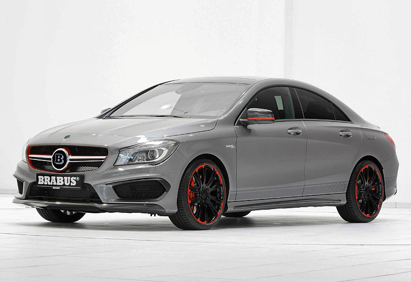 2014 brabus cla 45 amg specifications photo price for Mercedes benz v12 price