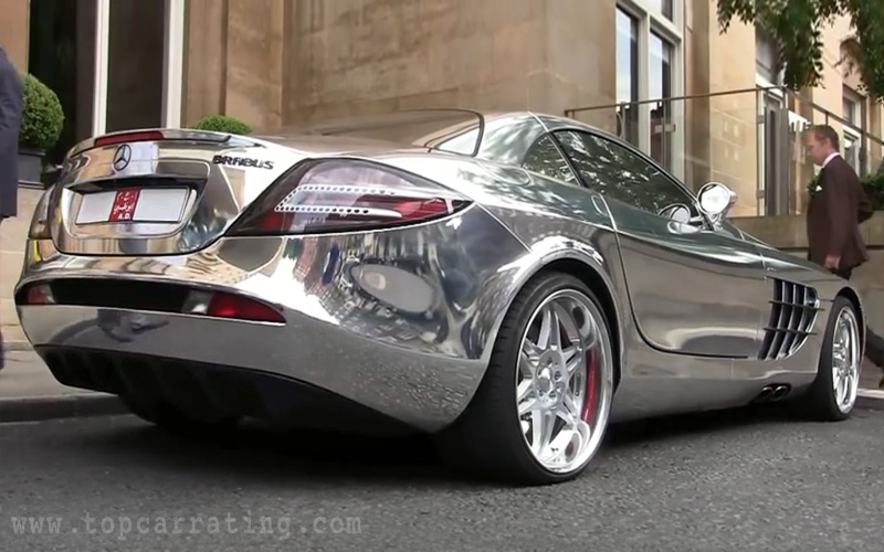 2010 Mercedes Benz Slr Mclaren V10 Quad Turbo Brabus White Gold Specifications Photo Price