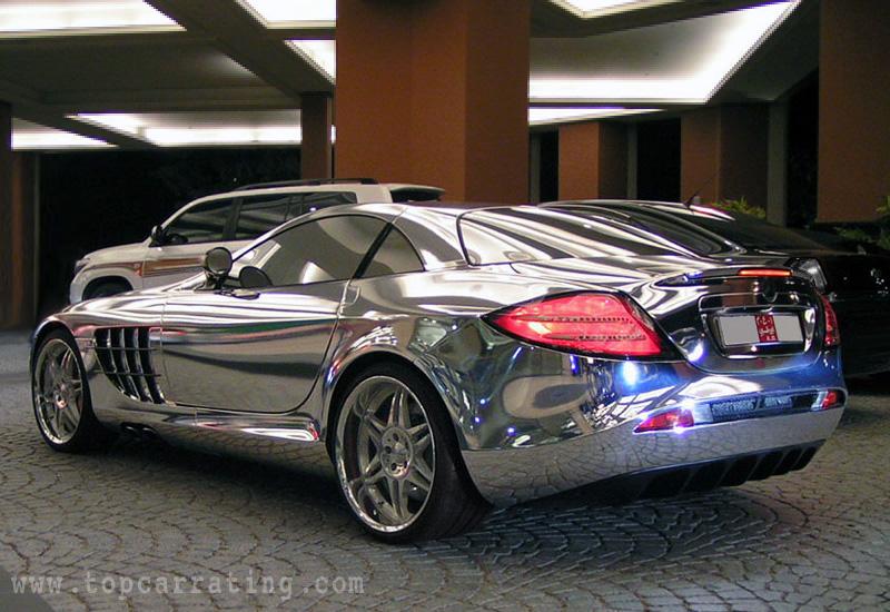 2010 Mercedes Benz Slr Mclaren V10 Quad Turbo Brabus White Gold Specifications Photo Price