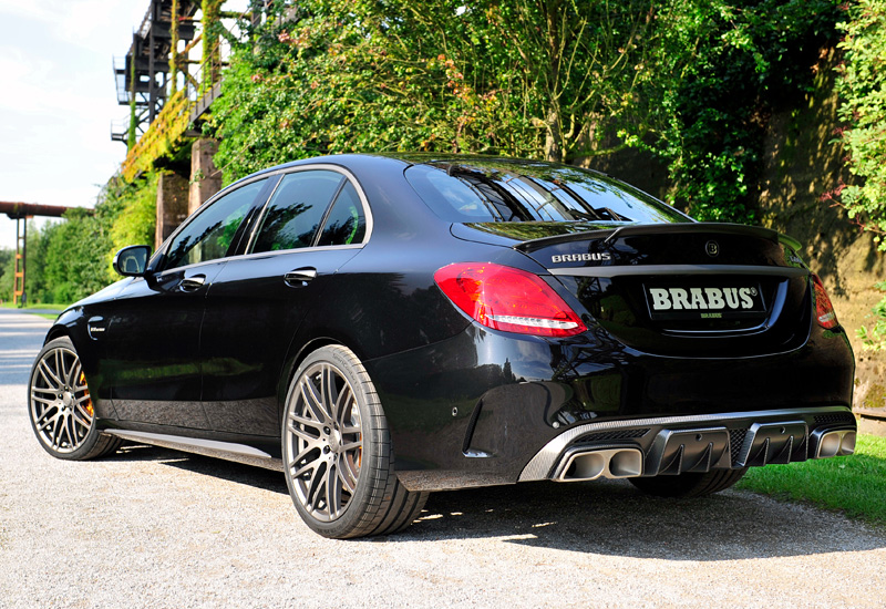 300 Hp Cars >> 2015 Brabus 600 Mercedes-AMG C 63 S (W205) - specifications, photo, price, information, rating