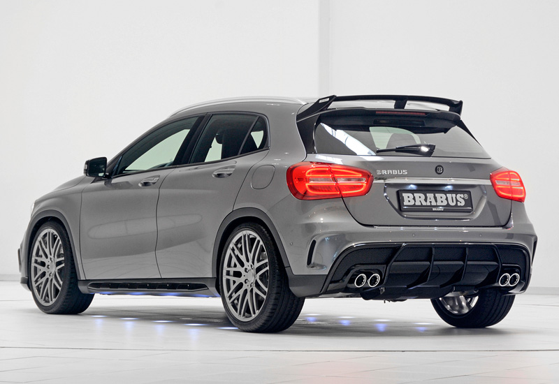2015 brabus gla 45 amg specifications photo price information rating. Black Bedroom Furniture Sets. Home Design Ideas