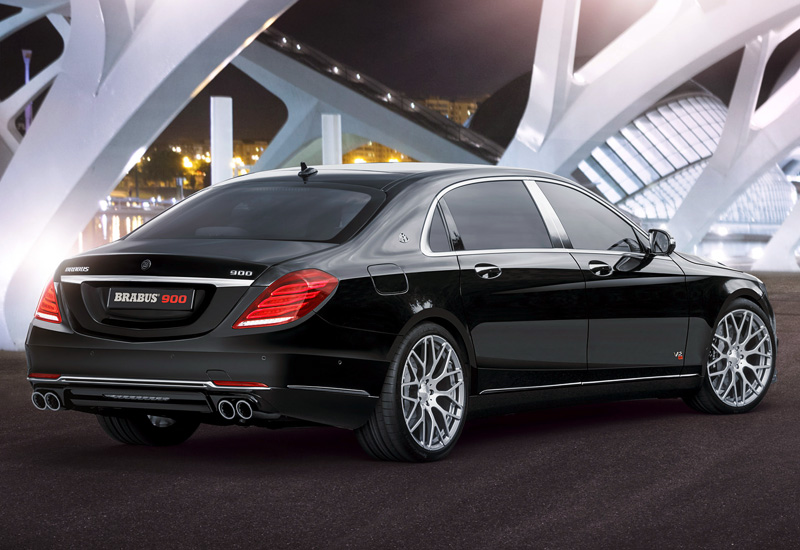 2015 Brabus Mercedes Maybach S600 Rocket 900 6 3 V12 Specifications Photo Price Information