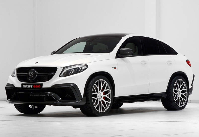 2016 Brabus 850 6.0 Biturbo GLE Coupe - specifications ...