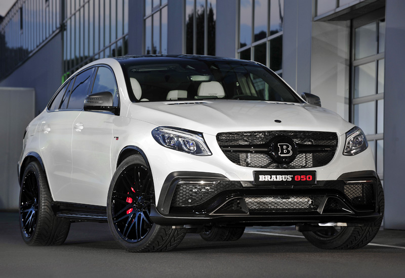 2016 brabus 850 6 0 biturbo gle coupe specifications photo price information rating. Black Bedroom Furniture Sets. Home Design Ideas