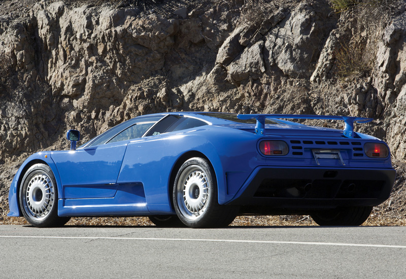 1992 bugatti eb 110 gt specifications photo price information rating. Black Bedroom Furniture Sets. Home Design Ideas