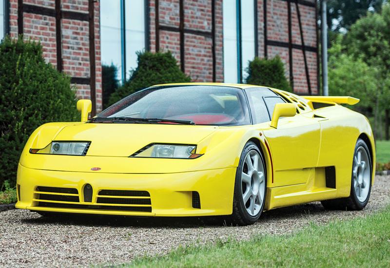 Bugatti eb110 price
