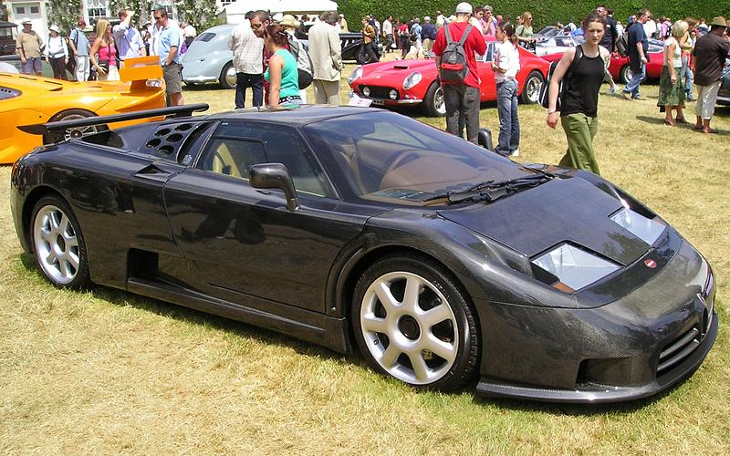1998 Bugatti Eb 110 Super Sport Dauer Specifications