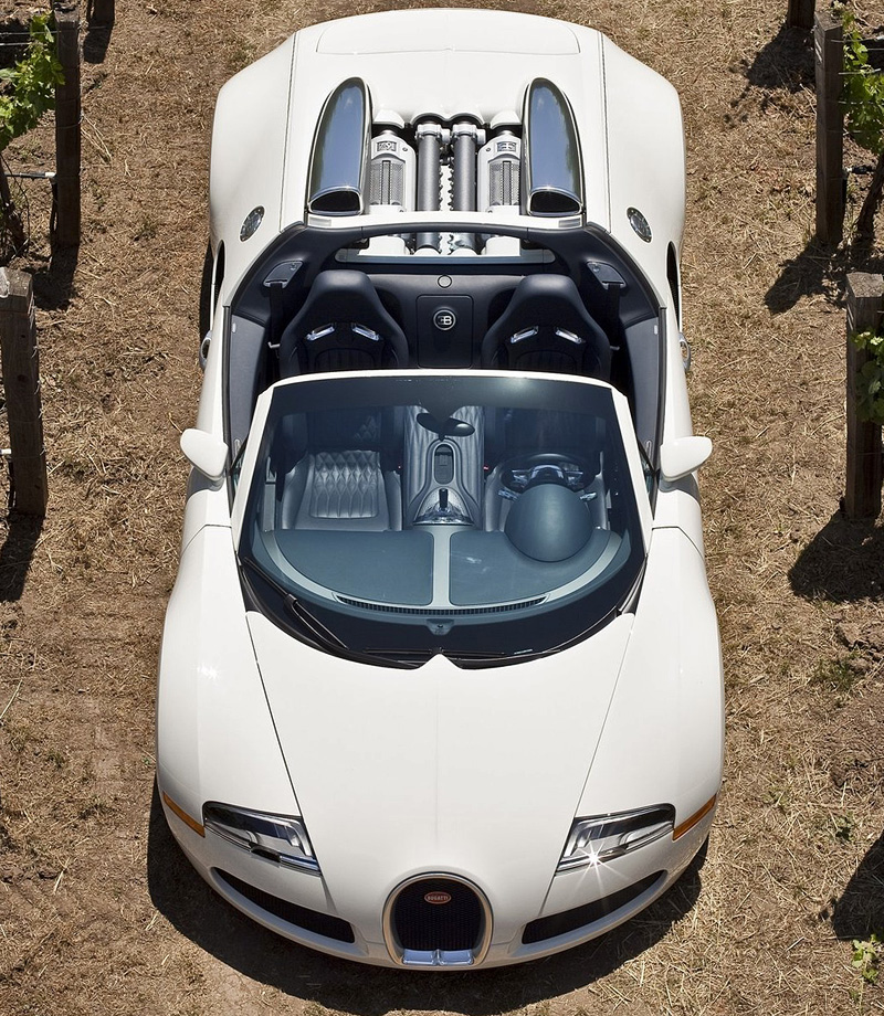 Bugatti Veyron Grand Sport 16 4 Open Top: 2008 Bugatti Veyron 16.4 Grand Sport