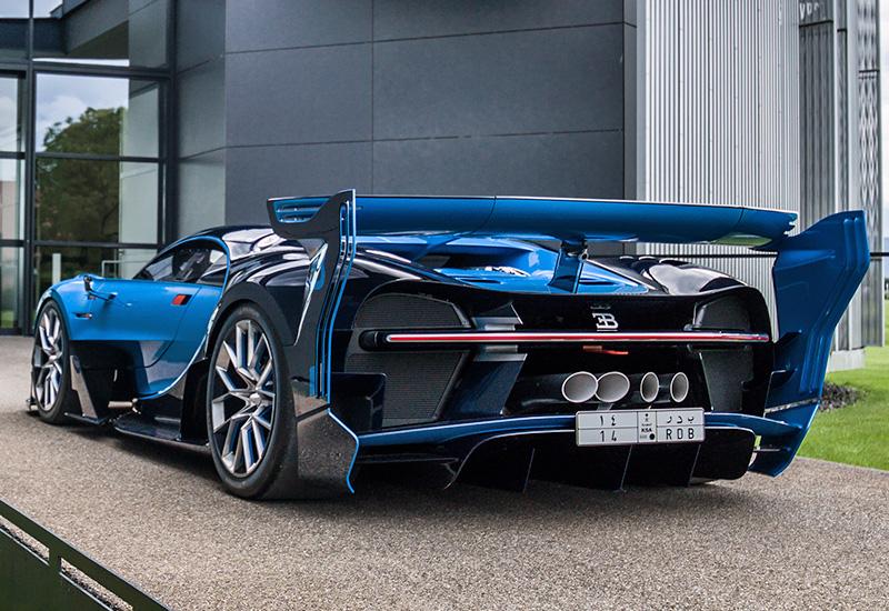 Bugatti vision price