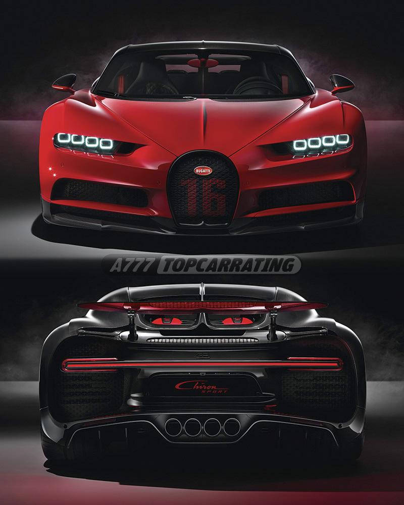Bugatti Chiron Sport: Specifications, Photo, Price