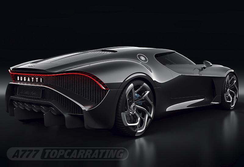 2019 Bugatti La Voiture Noire - specifications, photo, price