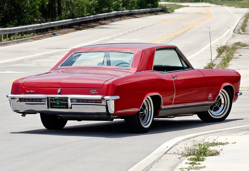 1965 Buick Riviera Gran Sport Specifications Photo