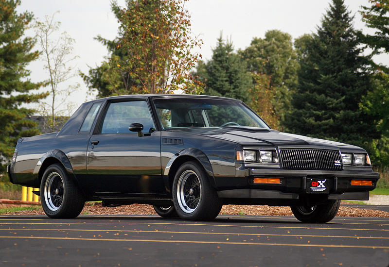1987 buick gnx specifications photo price information rating. Black Bedroom Furniture Sets. Home Design Ideas