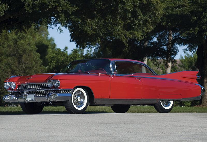 1959 Cadillac Eldorado Seville Coupe - specifications ...