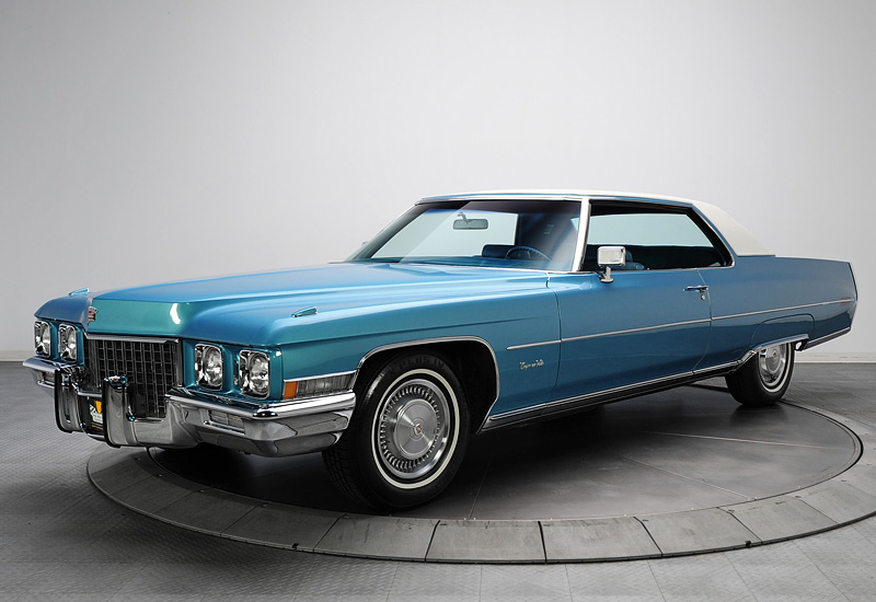 1971 Cadillac Coupe De Ville Specifications Photo