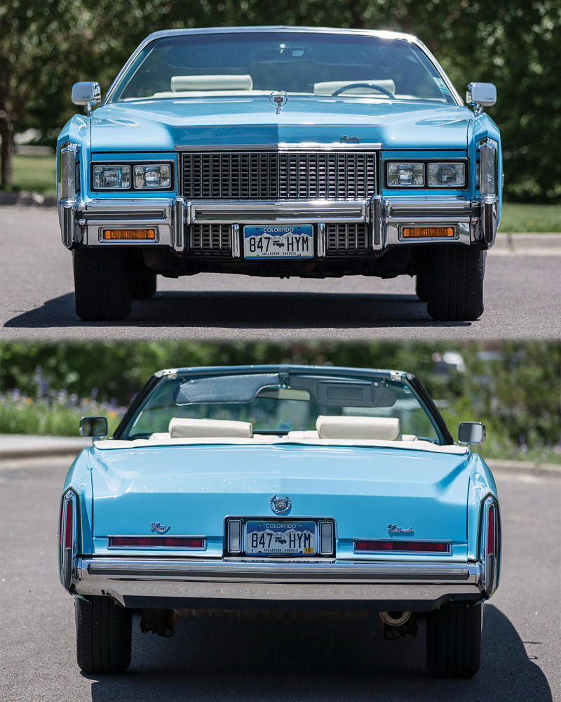 1976 Cadillac Fleetwood Eldorado Convertible - specifications, photo