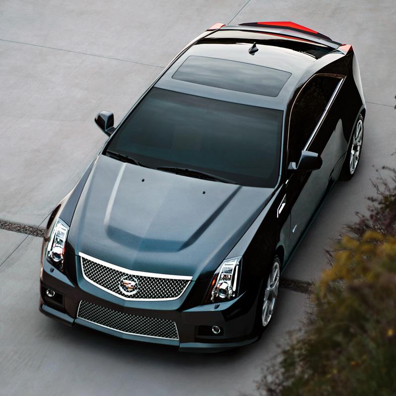 2010 Cadillac CTS-V Coupe