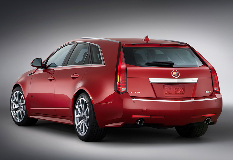 2010 Cadillac CTS-V Sport Wagon - Specifications, Images, TOP Rating